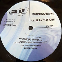 JEREMIAS SANTIAGO - An Ep For New York