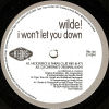 WILDE - I Won't Let You Down