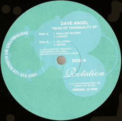 DAVE ANGEL - Seas Of Tranquillity EP