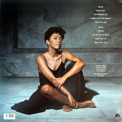 Anita Baker Rapture Elektra Entertainment Group