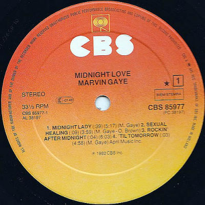 Midnight love marvin gaye cover