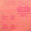 THE OBSERVER - Volume One