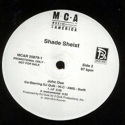 SHADE SHEIST feat DJ QUICK, AMG, HI-C & SWIFT- John Doe
