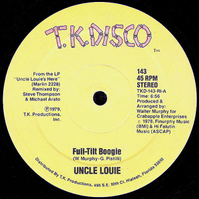 Uncle Louie Full-Tilt Boogie - Sky High