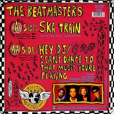 THE BEATMASTERS feat BETTY BOO - Hey Dj/I Can't Dance To ...