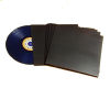 "12""/Lp Cardboard Sleeve Plain Black with Spine"