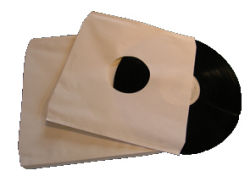 "12""/LP Innersleeves Paper Only"