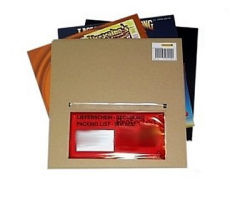 "12""/LP Carton Mailer for 1-3 Items"
